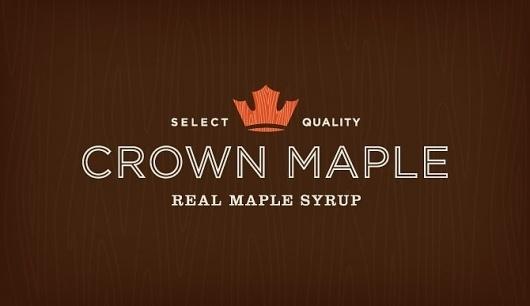Studio MPLS | Design #logo #crown #syrup #maple