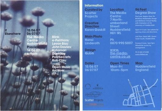 Qubik Design +44 (0)113 226 0839 #print #design #graphic #poster #qubik #typography