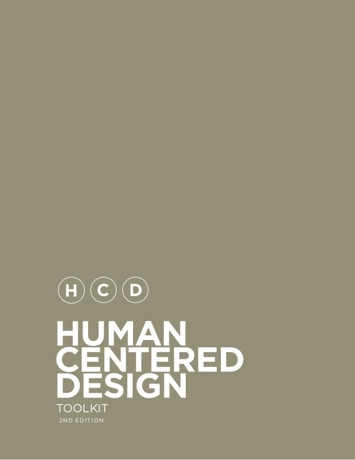 IDEO – Human Centered Design Toolkit #inspiration #ux #ui