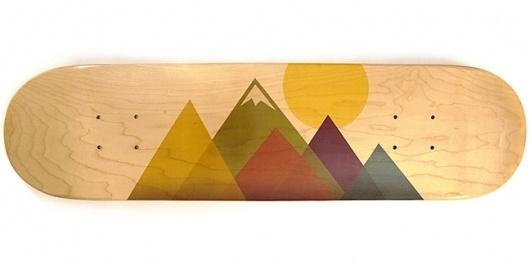 Rick VanderLeek #vanderleek #design #colorado #illustration #skateboard #rick #bordobello #mountains