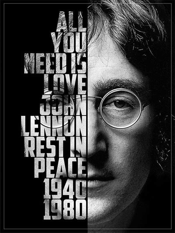 Awesome Lennon Poster