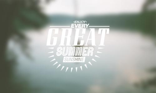 Summer Stamp on Behance