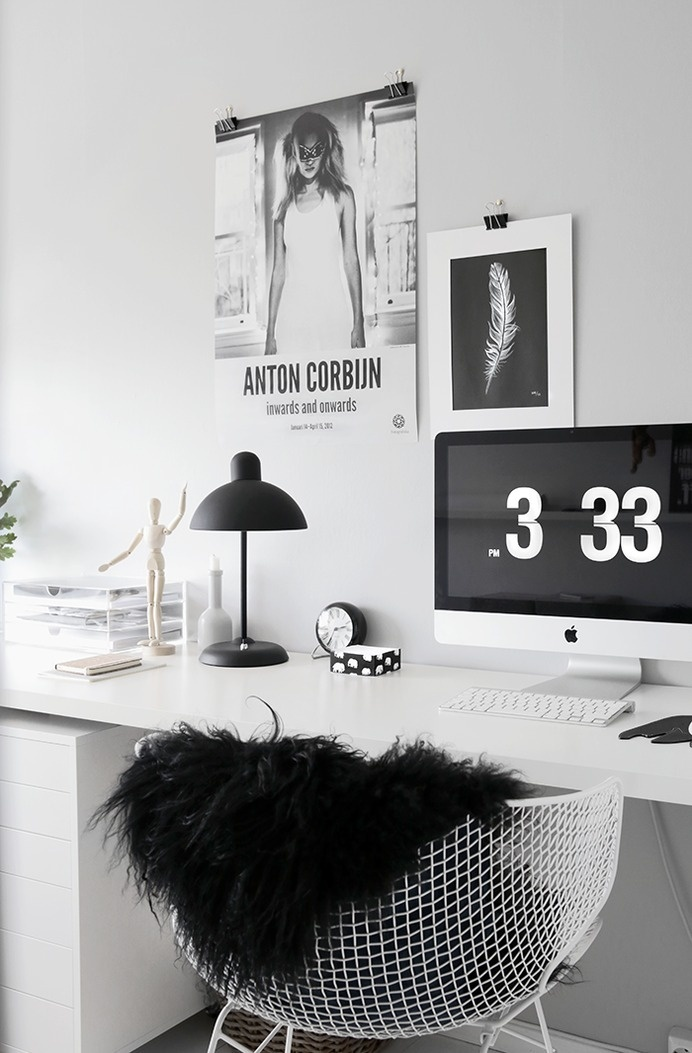 New office in 1-2-3! #office #desk #home #workspace