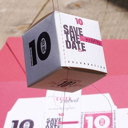 design work life » Save the Date by Smokeproof Press #save #date #invitation #the #wedding