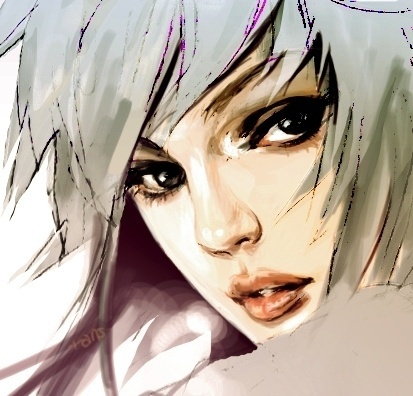 FFFFOUND! | painter test by *rans on deviantART #manga #illustration #painting