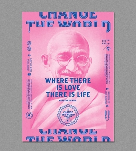 Change The World | ALONGLONGTIME #pink #world #poster #alonglongtime