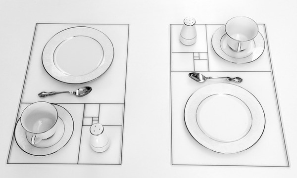 The minimalist placemat that lifts the aesthetic quality of your tables #interior #placemat