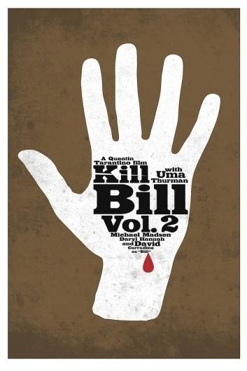 Kill Bill Posters on the Behance Network #western #movie #bill #kill #tarantino #poster #minimalist #quentin