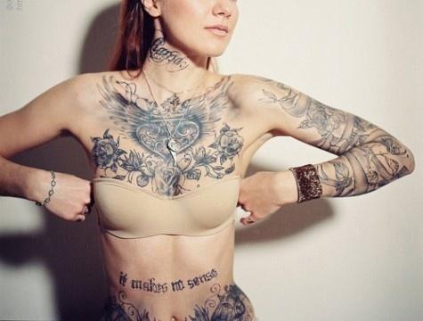 Land Of Cool #tatoo #girl