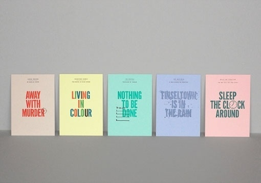 design work life » cataloging inspiration daily #cards #letterpress