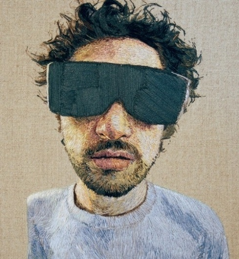 Colossal #embroidery #textiles #sunglasses #art
