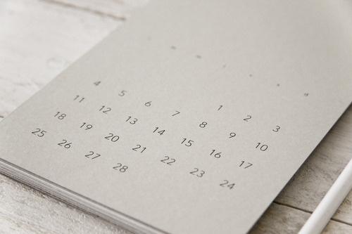 elcalendario DOSMIL13 #calendar #editorial