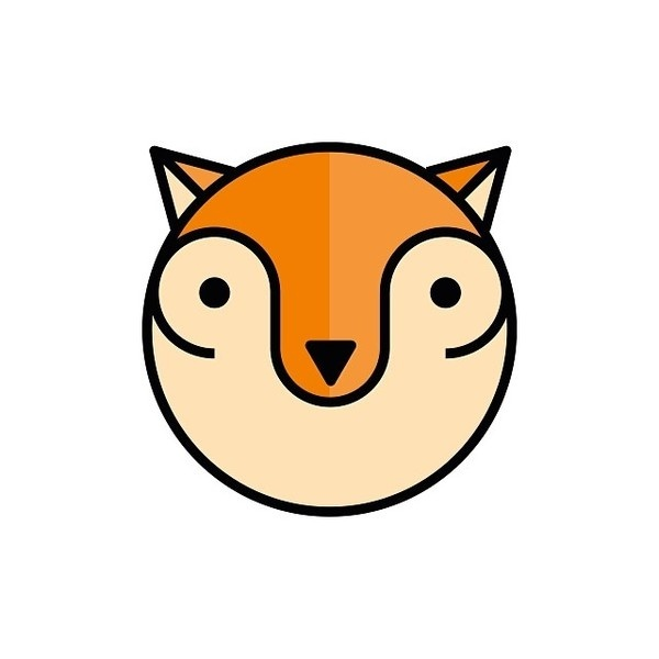 FOX #sergidelgado #barcelona #illustration #fox #animal #geometric #disseny #dissenygrafic #ilustracion #illustracio #diseñografico #graphi