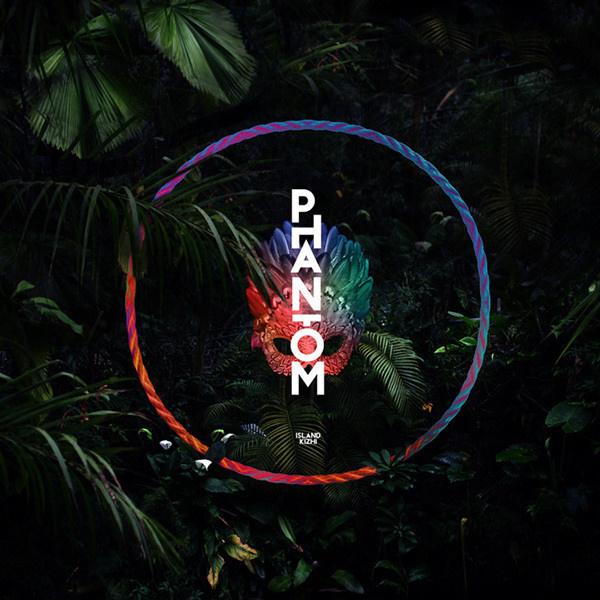 """""""PHANTOM"""" - Island Kizhi Artwork by Quentin Deronzier #tropical #phantom #kizhi #artwork #island #mask #music #forest #dark"""