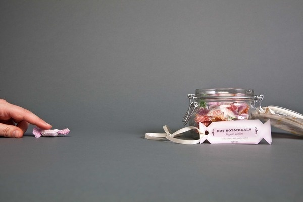 Soy Botanicals #packaging #candy #soy #botanicals