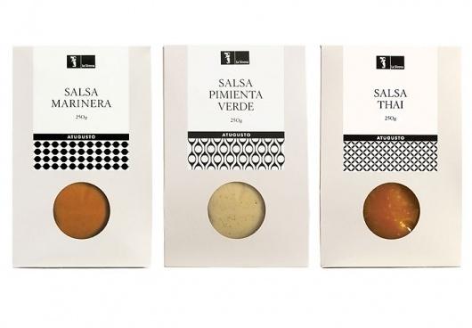 La Sirena Alimentación / A tu gusto. Own brand packaging. 2007 #packaging #food