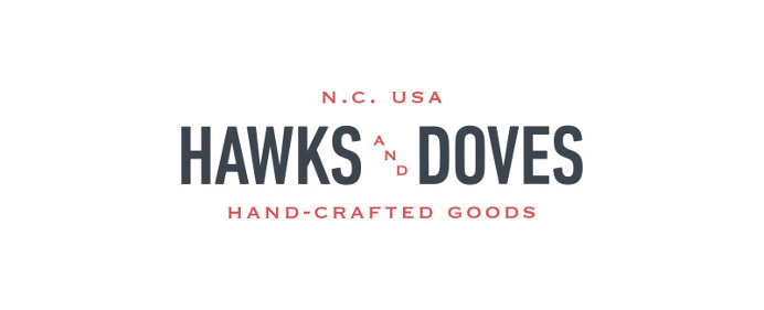 Hawks and Doves Logo, Goods, NC - Paul Tuorto