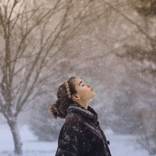 Beautiful Self-Portraits by a 17-Year-Old on yay!everyday #photography #snow