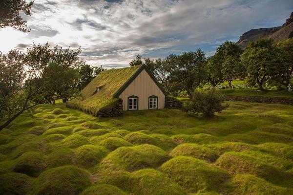 Photograph Hofskirkja Iceland by Menno Schaefer on 500px #iceland