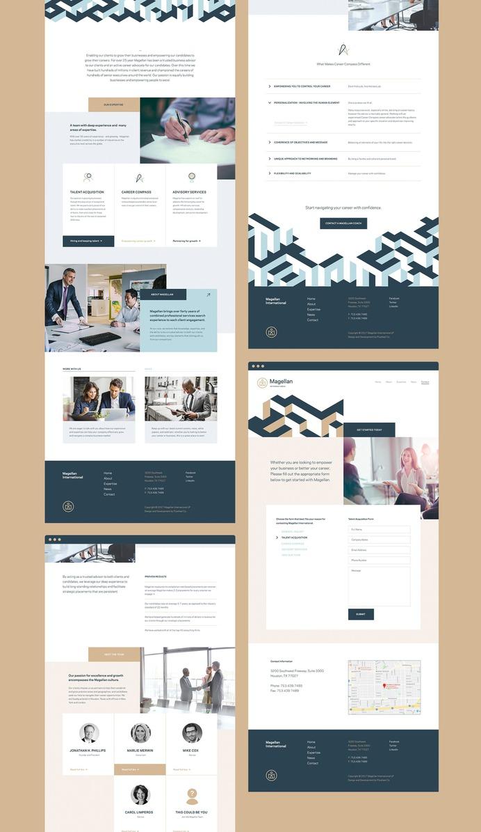 Magellan International – Website Design Sample #consulting #business #website #design #houston