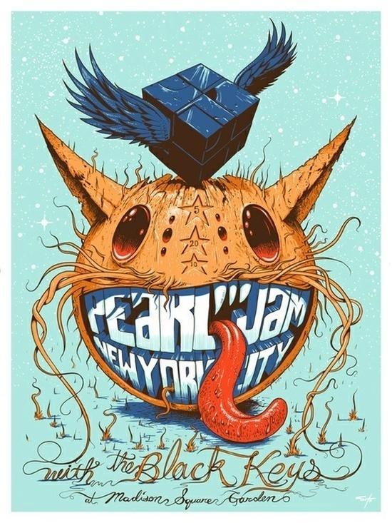 gig poster I #illustration #gig #concert