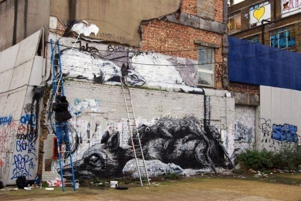 40 Creative Street Artworks