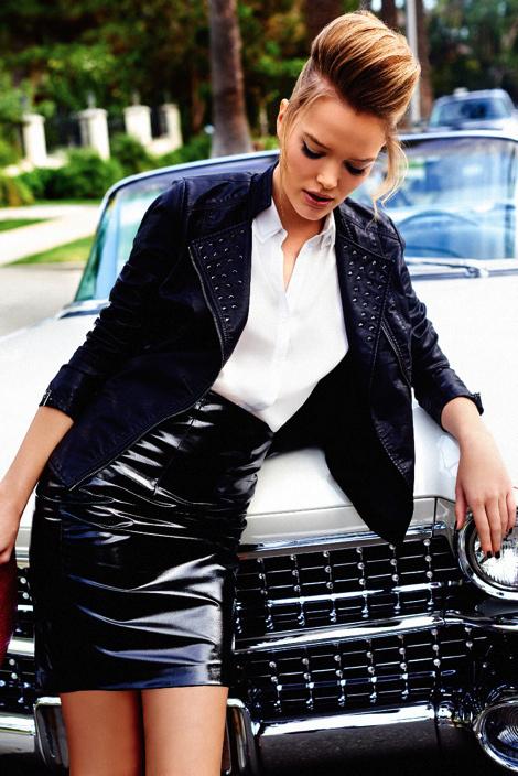 Zosia Nowak by Marcin Kempski #fashion #skirt #photography #sexy