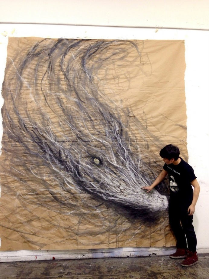 3d drawings of animals