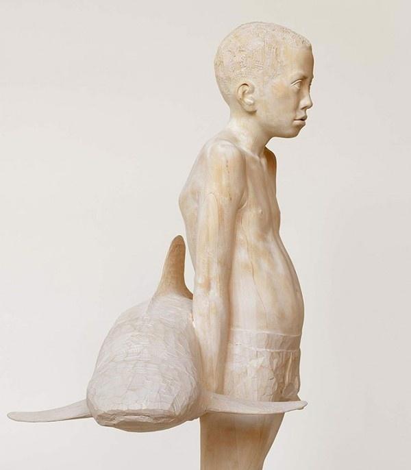 Mario Dilitz Sculptures 3 #wood #sculpture #art