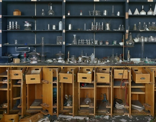 Andrew Moore | Photography | Detroit 2008-2009 | Chemlab, Detroit #photography #moore #andrew