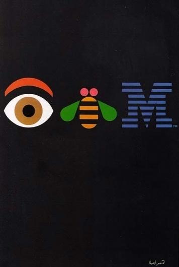 IBM by Paul Rand #symbol #design #graphic