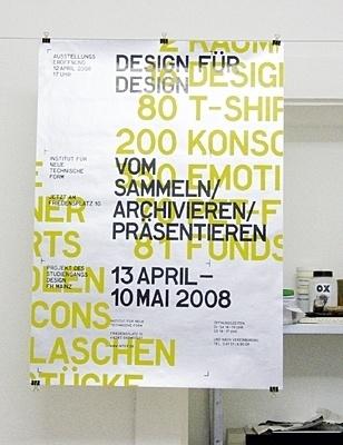 PORTFOLIO OF MARCEL FLEISCHMANN #minimalism #poster #typography