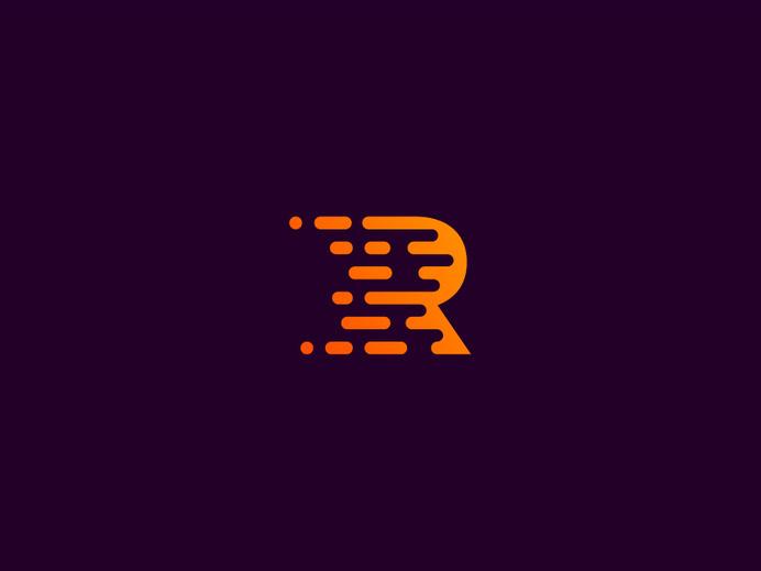 R by Kakha Kakhadzen #logo