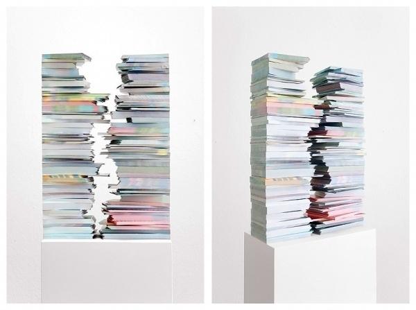 combo.jpg (929×693) #sculpture #negative #books #space #architecture