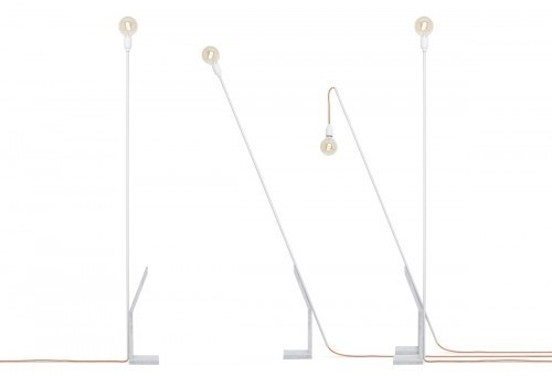 Tube Lamp by Doreen Westphal Studio #lamp #concrete #lighting