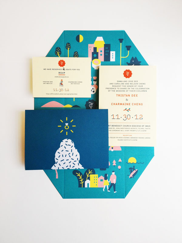 Wedding Invite Jefferson Cheng — Design #invite