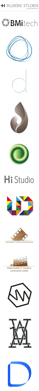 logo design of plusone studios #logo #design