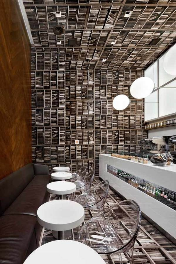 CJWHO ™ (A Look Inside Sideways Coffeeshop D'Espresso) #shop #design #books #interiors #coffee #photography #architecture #york #new