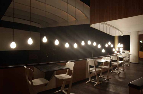 08 #interior #lamps #restaurant
