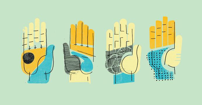 #illustration #hands