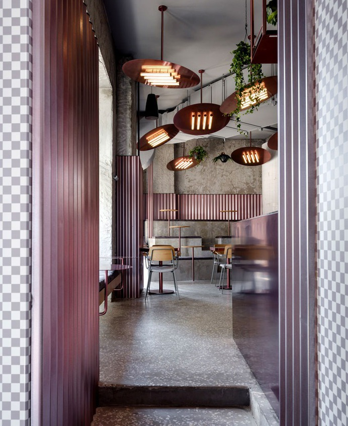 Moscow City Chic Sparkle in Pink by Crosby Studios - InteriorZine
