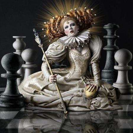 Fashion or Fantasy « Gretta Berry Photography #chezz #fantasy #women #queen #female