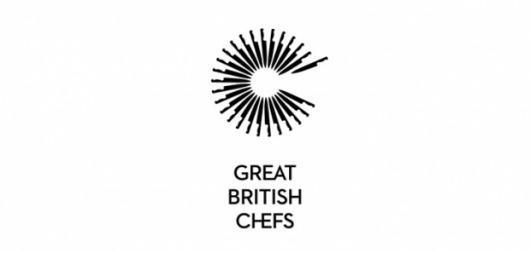 Great British Chefs Logo #branding #icon #identity #silhouette #symbol #logo