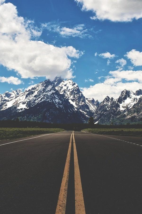 idiosyncratic #photography #mountain #sky #road #path #freeway #follow
