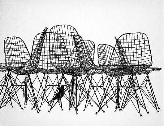 eames4.jpg 640×490 pixels #chair #space #eames