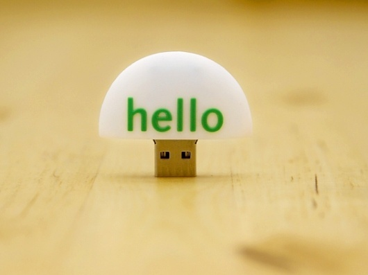 Hello » Blog Archive » USBs Have Landed #usb #design #hello