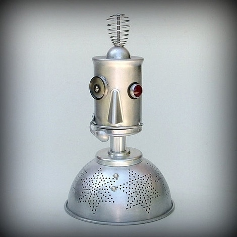 Ground Control to Major Tom robot nightlight   iainclaridge.net #homemade #robot
