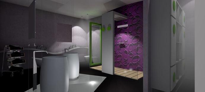 PROGETTAZIONE ARREDAMENTO STANZA DA BAGNO - Picture gallery #moderne #studio #laccate #design #classiche #mobili #made #per #italy #arredamento #in #legno #misura #su #lussuo #componibile #darredo #cucina #art #rovere #architettura #cucine