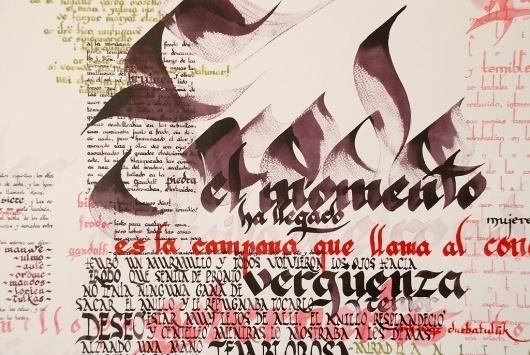 Más tamaños | Trabajos de Typo | Flickr: ¡Intercambio de fotos! #calligraphy #typography