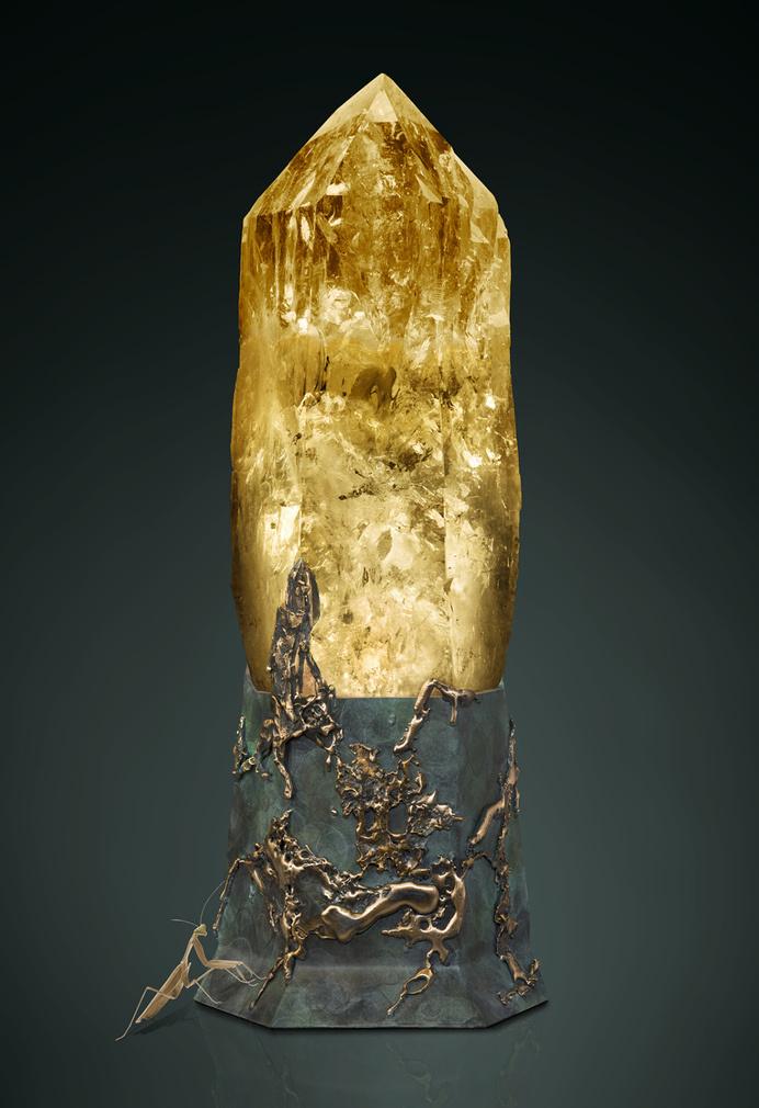 Spectacular gemstone sculptures by Lawrence Stoller - www.homeworlddesign. com (10) #gemstone #sculptures
